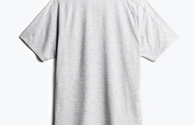 men's light grey composite active tee back
