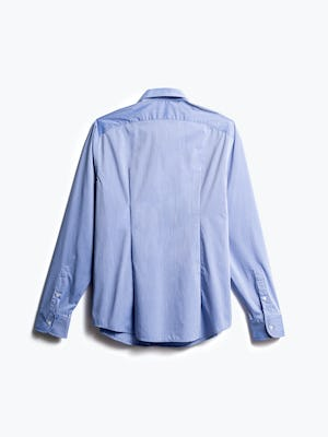 men's blue gemini button down back