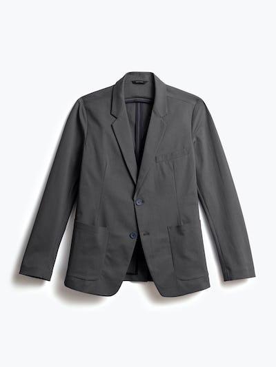 men's charcoal heather kinetic blazer front
