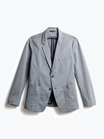 Men's Grey Heather Kinetic Blazer Front View