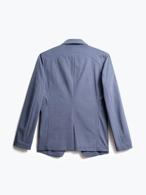 men's indigo heather kinetic blazer back