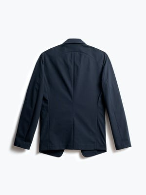Men's Navy Kinetic Blazer Back View
