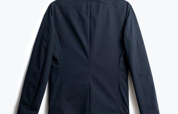 Men's Navy Kinetic Blazer Back View