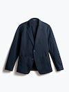 men's navy kinetic blazer front