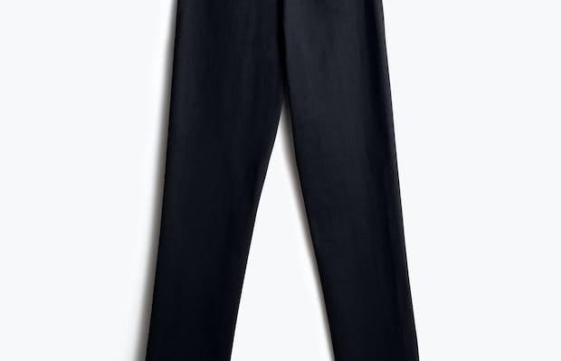 men's black kinetic pant back