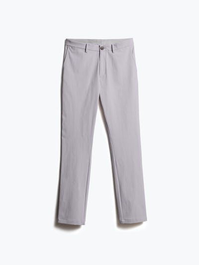 men's light grey momentum chino front