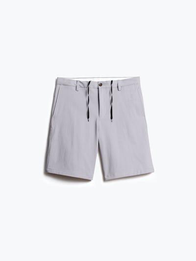men's light grey momentum chino short front