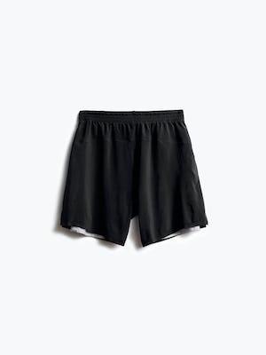 men's black newton active short back