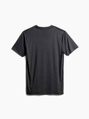 men's black responsive tee back