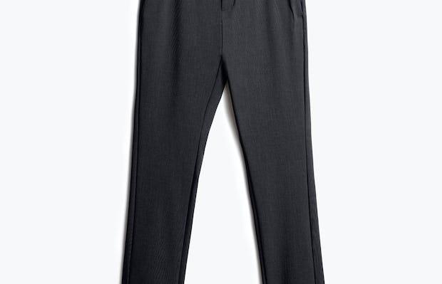 men's dark charcoal velocity pant front