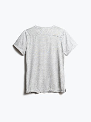 women's light grey composite tee shot of back