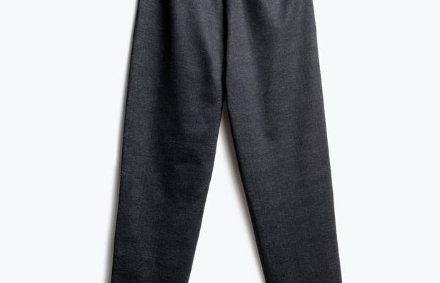 Women's Grey Glen Plaid Fusion Pull-On Ankle Pant Back View