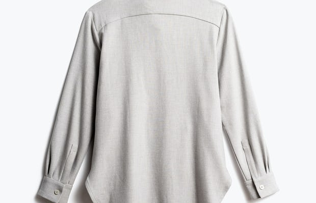 Women's Sandstone Fusion Overshirt Back View