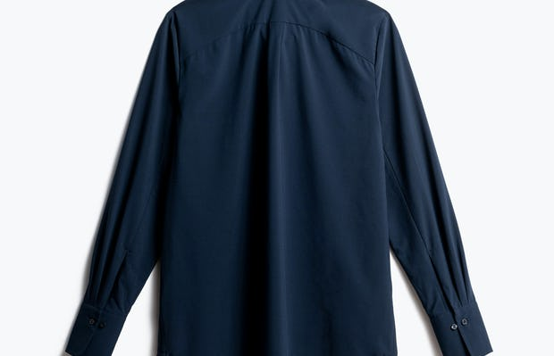 Women's Navy Juno Blouse Back View