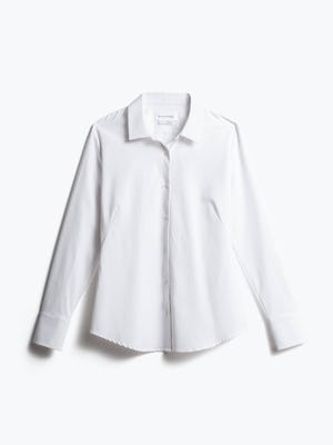 Women's Women's Juno Recycled Tailored Shirt Front View