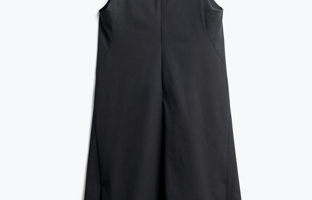 Women's Black Kinetic A-Line Dress Back View