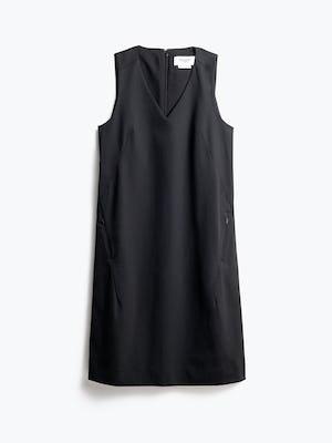 Women's Black Kinetic A-Line Dress Front View