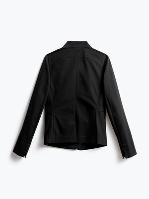 Women's Black Kinetic Blazer Back View