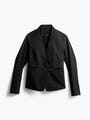 Women's Black Kinetic Blazer Front View