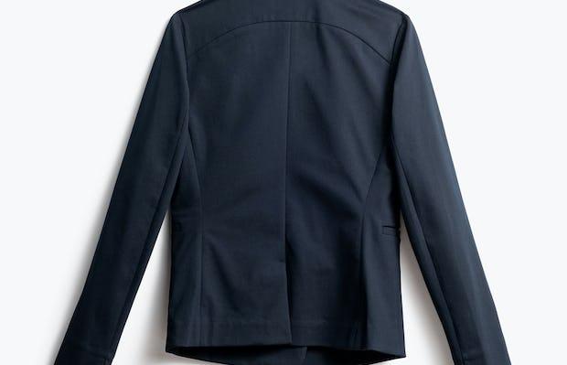 Women's Navy Kinetic Blazer Back View