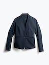 Women's Navy Kinetic Blazer Front View