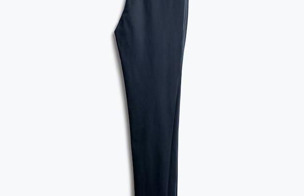 Women's Navy Kinetic Pants Skinny Folded in Half Back View