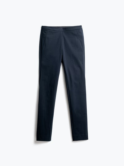 Women's Navy Kinetic Pants Skinny Back View