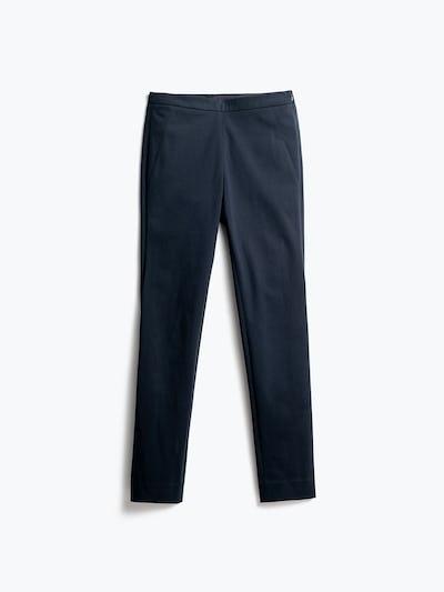 Women's Navy Kinetic Pants Skinny Back View