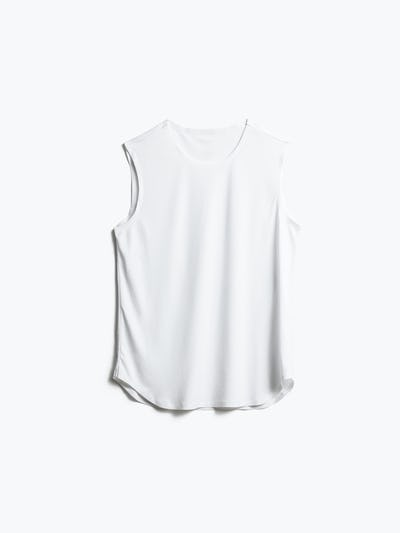 Women's White Luxe Touch Tank Front View