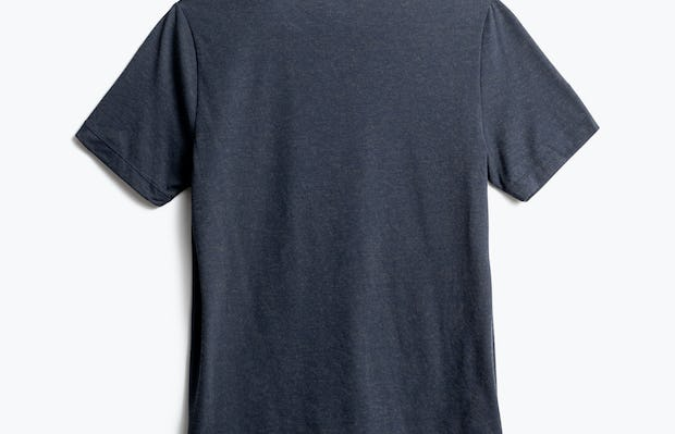 men's navy composite merino tee back