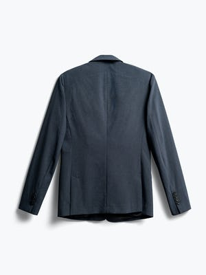Mens Blue Houndstooth Velocity Blazer - Back View