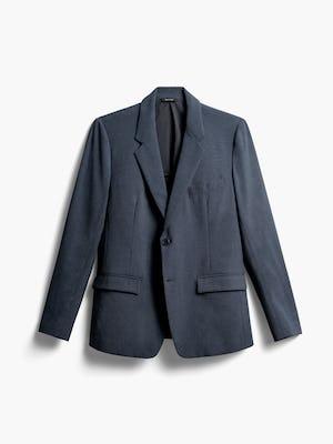 Men's Blue Houndstooth Velocity Blazer Front View