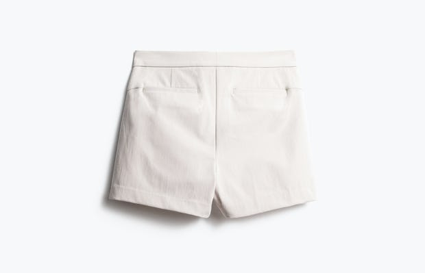 Women's Light Khaki Momentum Chino Shorts Back View