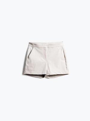 Women's Light Khaki Momentum Chino Shorts Front View