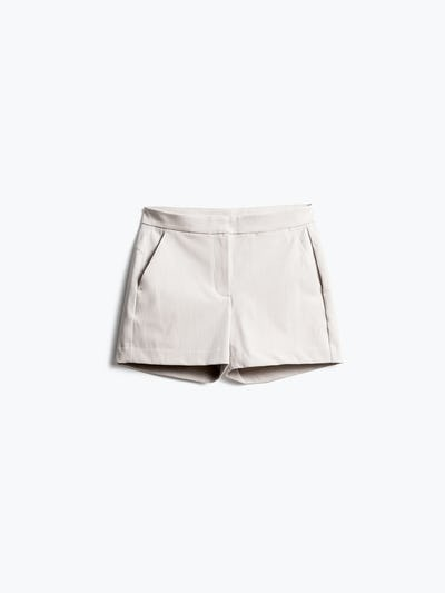 Women's Light Khaki Momentum Chino Shorts Front View