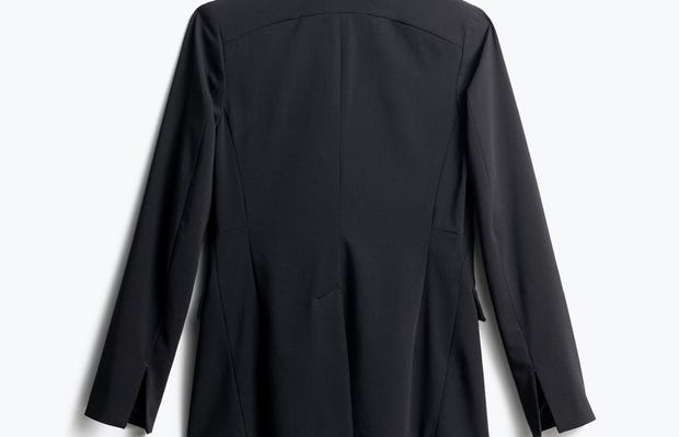Women's Black Velocity Blazer Back View