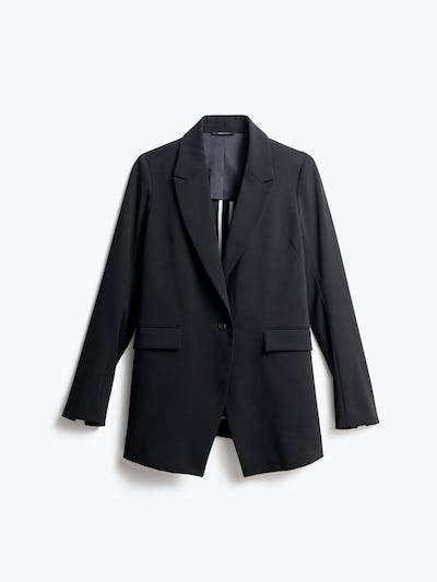 Women's Black Velocity Blazer Front View