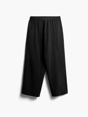 Women's Black Swift Wide Leg Pants Back View