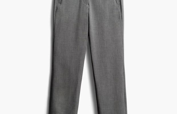 Women's Light Grey Velocity Pant Front View