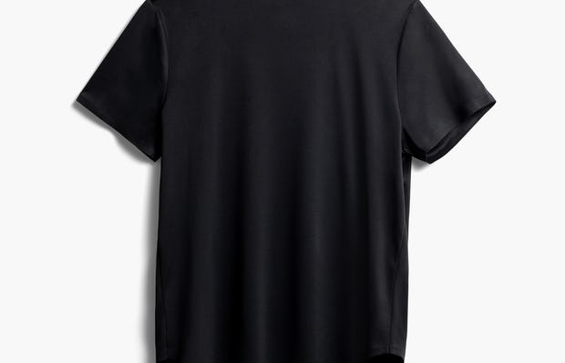 Women's Black Luxe Touch Tee Back View