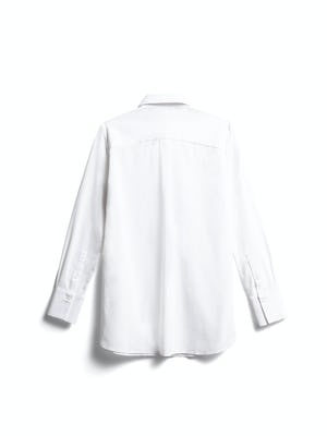 women's white aero tunic back