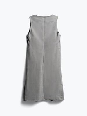 women's grey heather kinetic a-line dress back