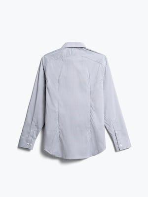 men's purple tattersall aero dress shirt back
