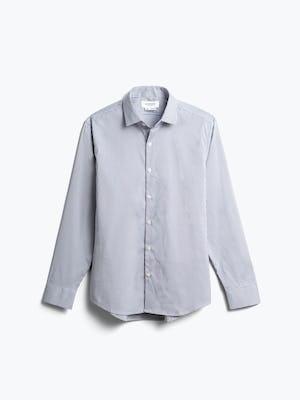 men's purple tattersall aero dress shirt front