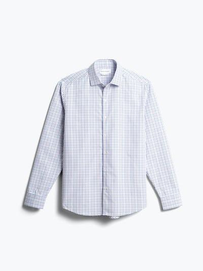 men's lavender tattersall aero zero dress shirt front