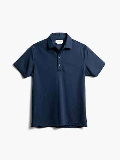 men's navy apollo polo front