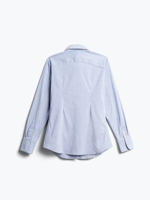 Women's Aero Dress Shirt Blue Stripe Back