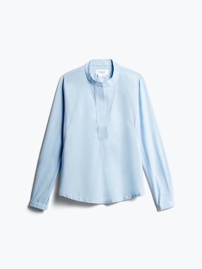Womens Chambray Juno Popover - Front View