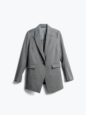 Womens Light Grey Velocity Blazer - Front View