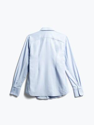 Women's Light Blue Aero Zero Dress Shirt Back